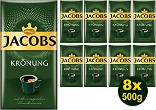 """Jacobs KRÖNUNG gemahlen 8x 500g 4000g - Jacob""""s Filterkaffee, Kaffee"""