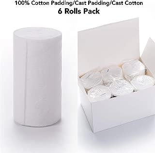 Best webril cotton undercast padding Reviews