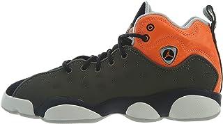 buy popular e1521 cb012 Nike Jordan Jumpman Team II GS 820273-300 Leather Synthetic Youth Trainers  - Twilight Marsh