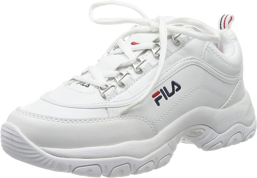 Fila strada, sneakers a collo alto donna in pelle sintetica 1010560