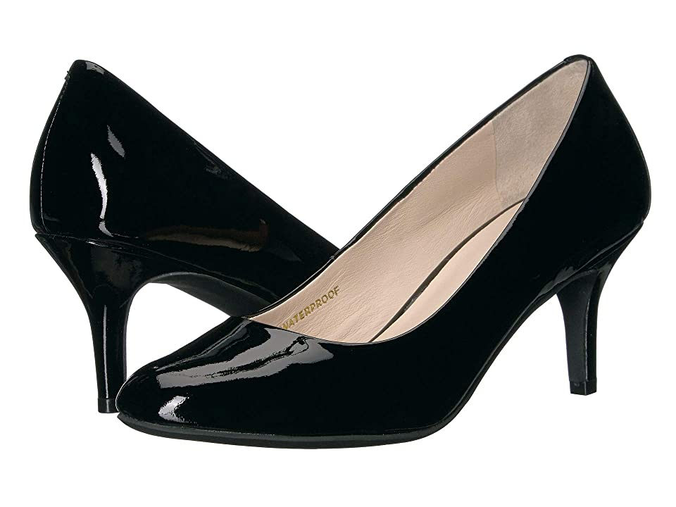Cole Haan Ava Pump (Black Waterproof Patent) Women