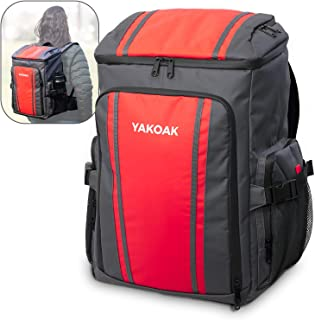 yakoak Backpack Cooler Leakproof and Waterproof 45 Cans Lightweight Soft Cooler Bag Insulated Backpack for Women and Men w...