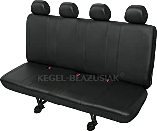 ZentimeX Z713713 Kopfst/ützenbez/üge Baumwolle schwarz