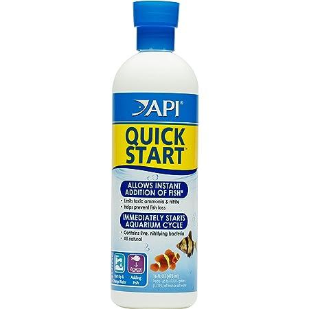 API Quick Start Nitrifying Bacteria, for Freshwater and Saltwater Aquarium