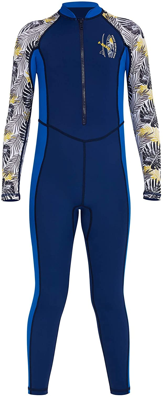 TENEMT Boys Swimsuit One Piece Rash Guard Large special price Choice UPF UV Body Full 50+ B