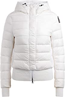 Parajumpers Woman's Oceanis 411 White Down Jacket with Hood