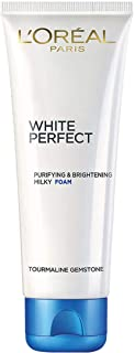 L'Oreal Paris White Perfect Rosy Foam Wash 1 100 mlwhite, Pack of 1