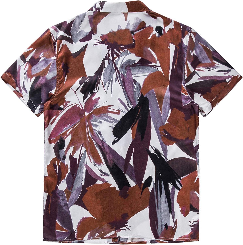 Camisa Casual de Manga Corta para Hombre de, Camisa Estilo ...