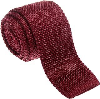 Best maroon knit tie Reviews