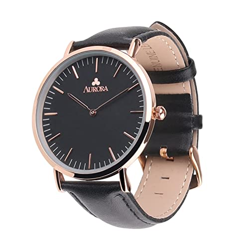 Watches Men's Watches Fine Fashion Japan Quartz Black Luxury Red Hand Ultra Thin Man Watches Business Woman Leather Magnet Mesh Stainless Steel Waterproof Regular Tea Drinking Improves Your Health
