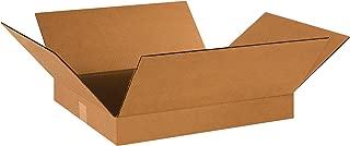BOX USA B18162 Flat Corrugated Boxes, 18