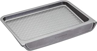 MasterClass Smart Stack Vertical Stacking Baking Tray with Non Stick Coating, Carbon Steel, 40.5 x 31 x 5 cm