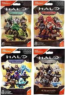 Mega Construx Halo Challenger, Warrior, Maverick and Stormbound Blind Bag Mystery Packs (1 Pack of each)