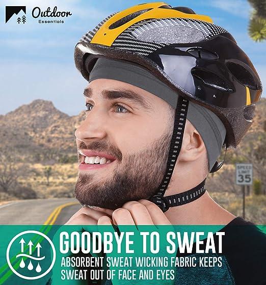 ChinFun Skull Cap Helmet Liner Sweat Wicking Cycling Hat Winter Warm for Men Women Motorcycle Running Football Head Beanie