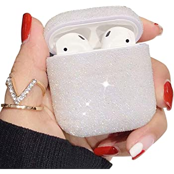 Coque AirPods PROKENZO Blanc Protection Coque en Silicone Anti Choc Compatible Android Apple iPhone AirPods PRO