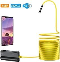 Depstech Endoscopio Inalámbrico, WiFi Cámara de Inspección HD 5.0MP Boroscopio Distancia Focal de 16 Pulgadas, Batería 2600mAh para iOS, Android, iPhone, Tableta- 5M