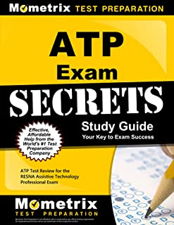 ATP Exam Secrets Study Guide: ATP Test Review for the RESNA Assistive Technology Professional Exam