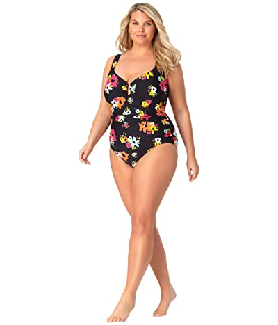 Anne Cole Plus Size Sweetheart One-Piece