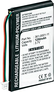 1250mAh Li-Polymer Replacement Battery for Garmin Nuvi 200, Nuvi 200w, Nuvi 205, 205T, Nuvi 205W, Nuvi 250, Nuvi 205WT, Nuvi 255, Nuvi 255T, Nuvi 255W, Nuvi 255WT, Nuvi 252w, Nuvi 260, Nuvi 260w