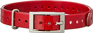 Garmin 3/4-Inch Red Collar Strap for Garmin Delta Series