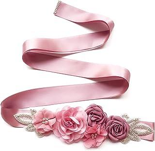 Amazon Es Cinturones De Flores