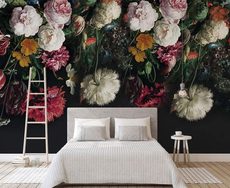 WH-PORP schwarz Bottom Große Große Große Wandbilder 3D Rosa Flower Tapete für Schlafzimmer Sofa Hintergrund 3D Fototapeten 3D Blaume Aufkleber-200cmX140cm B07G4D5ZLW 35bd76