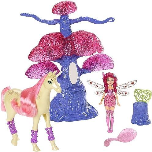 Mia and me - Mini-Spielset Magischer Baum - Puppe Mia und Einhorn