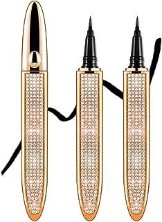 Ownest 2 Pcs Self-adhesive Eyeliner,Diamond Liquid Eyeliner No Glue Non Magnetic Multi-Use Liquid Eyeliner 2 in 1 Eyeliner...