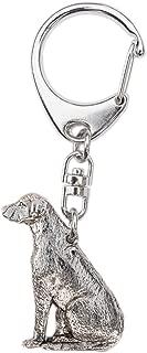 ARTES PARA PERROS JP Rhodesian Ridgeback Hecho en el Reino Unido Colección de llaveros para perros de estilo artístico