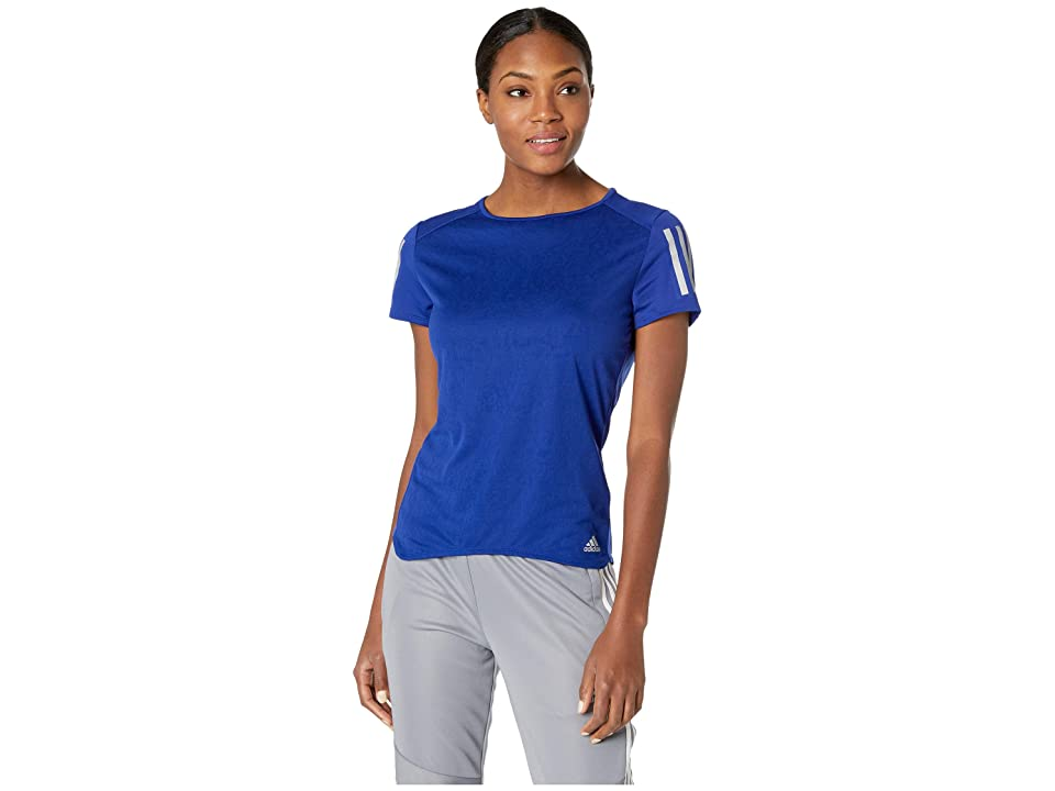 adidas Response Short Sleeve Tee (Mystery Ink) Women