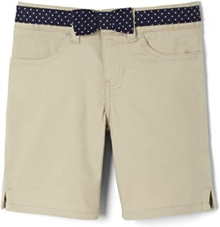 French Toast Girls' Little Belted Short