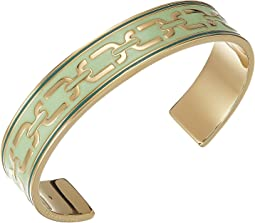 Marc Jacobs Double J Enamel Printed Chain Cuff