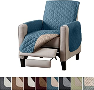 Home Fashion Designs Reversible Recliner Chair Protector. Furniture Protector for Living Room with Secure Straps. Furniture Protectors for Kids, Dogs and Pets. (26