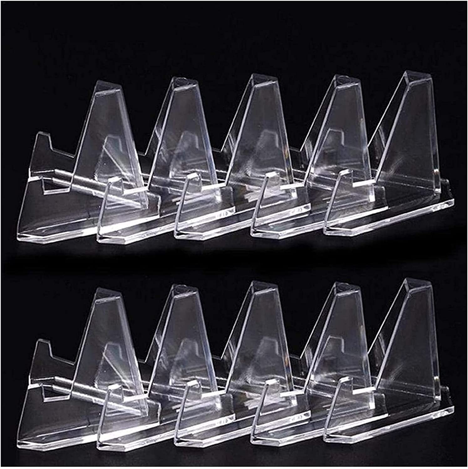 ZSPSHOP Hook Hanger 40Pcs Multipurpose Acrylic Save money Display Clear Challenge the lowest price of Japan Sta
