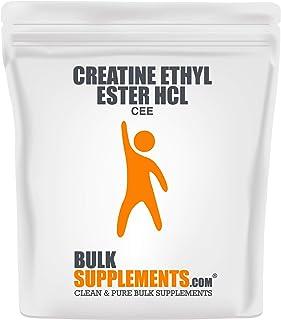 Sponsored Ad - Bulksupplements Creatine Ethyl Ester (CEE) HCL Powder (250 Grams)