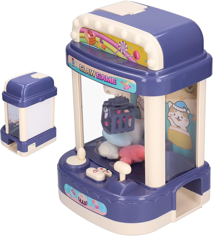 Máquina expendedora, esquinas redondeadas Máquina de garra liviana con joystick giratorio de 360 grados para el hogar para el supermercado(#1, Tipo de torre inclinada de Pisa)