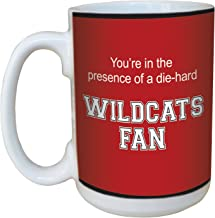 Tree-Free Greetings lm44683 Wildcats College Basketball Ceramic Mug with Full-Sized Handle, 15-Ounce