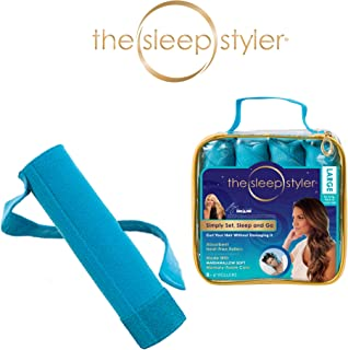 "Allstar Innovations Sleep Styler: The heat-free Nighttime Hair Curlers for long, thick or curly hair, Large (6"" Rollers), 8 Count, As Seen on Shark Tank"