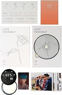 BTS 5th Mini Album - LOVE YOURSELF 轉 HER [ L ver. ] CD + Photobook + Mini Book + Photocard + Sticker Pack + FREE GIFT / K-POP Sealed