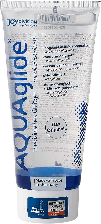 Joydivision AQUAGlide Original - Lubricante paquete de 3 x 200