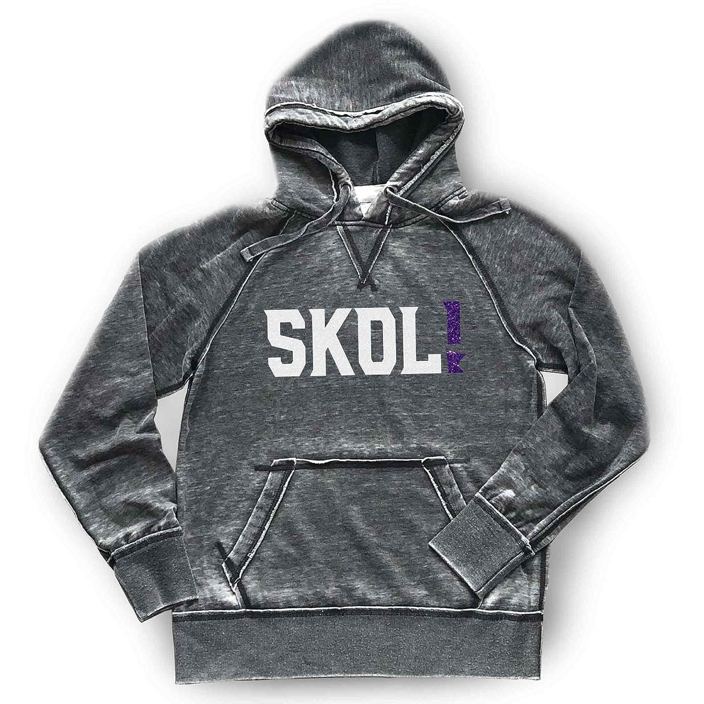 SKOL Vikings Hoodie Unisex Men's Women's Football Free shipping / New Max 63% OFF Minnesota Sof