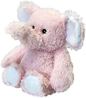 Intelex Warmies Cozy Plush Soft Pink Elephant