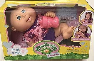 Cabbage Patch Kids Drink N' Wet Newborn Baby Doll (Flower)