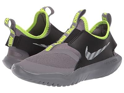 Nike Kids Flex Runner HZ (Little Kid) (Gunsmoke/Reflect Silver/Black/Volt) Kids Shoes