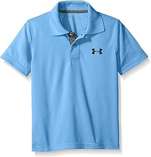 Under Armour Boys' Ua Logo Short Sleeve Polo