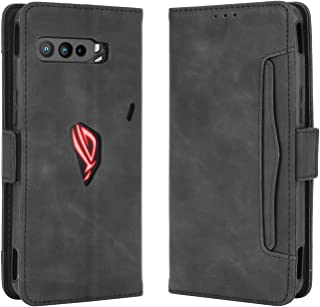 Tznzxm Asus Rog Phone 3 Wallet Case, Asus Rog Phone 3 Case,Flip Kickstand Case with 5 Card Slots Holders Magnetic Folding ...