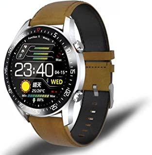 Men's smart watch, fashion watch, IP68 waterproof sports fitness watch, suitable for Android IOS, call reminder and messag...