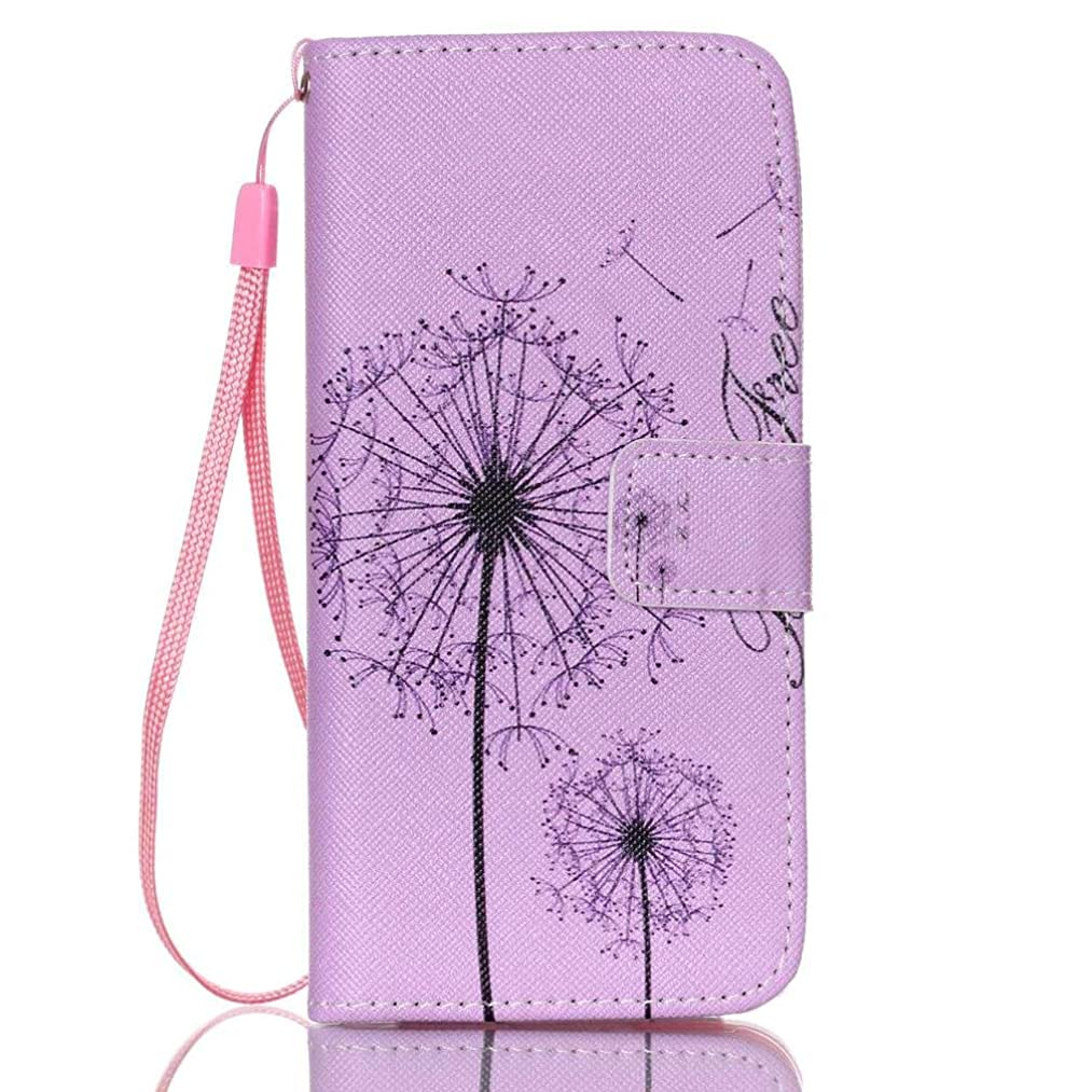 iPhone 6S/6 case,Detachable iPhone Wallet Case Premium PU Leather Shell Card Holder Full Body Protection Card Holder with Wrist Strap 3D Painted Folio Flip Card Slots Covers for Apple iPhone 6S