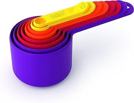 Joseph Joseph 40019 Nest Measure Measuring Cup Set, Multicolour