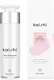 Kaishi - Rose Blossom Face Cream - deep hydration, anti-